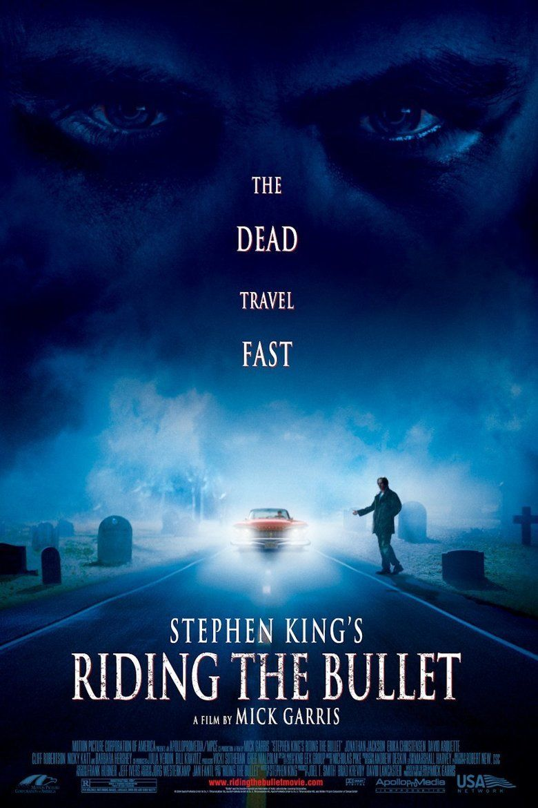Riding the Bullet (film) movie poster