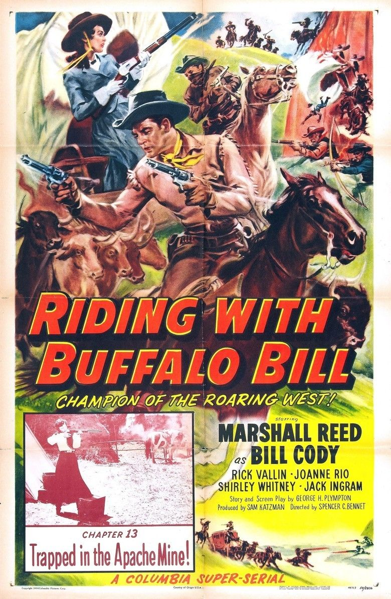Riding with Buffalo Bill movie poster