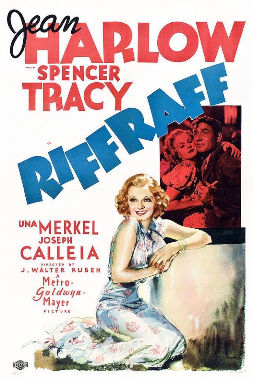 Riffraff (1936 film) movie poster