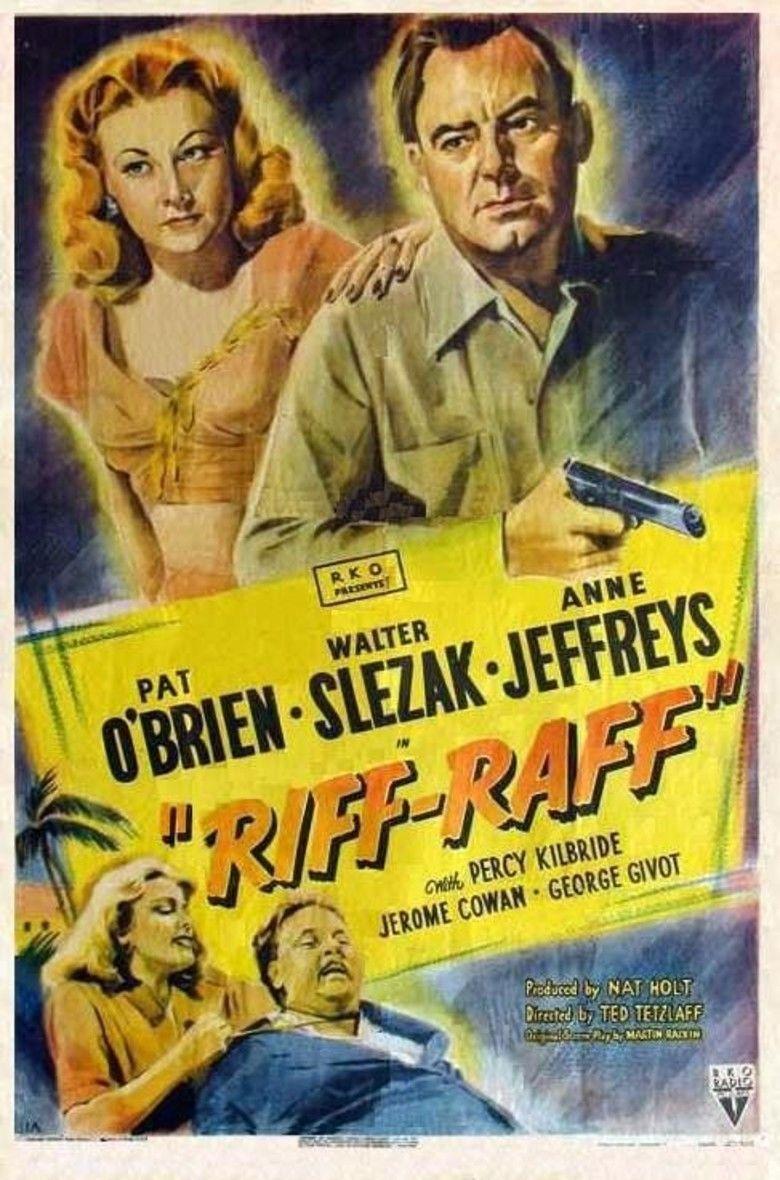Riffraff (1947 film) movie poster