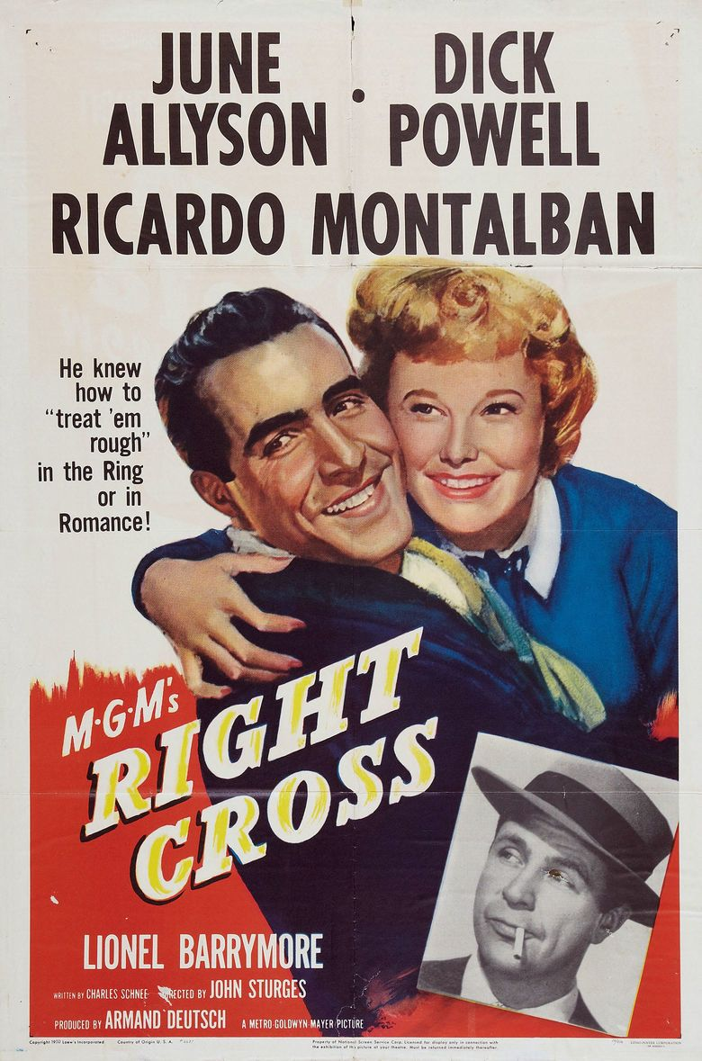 Right Cross movie poster