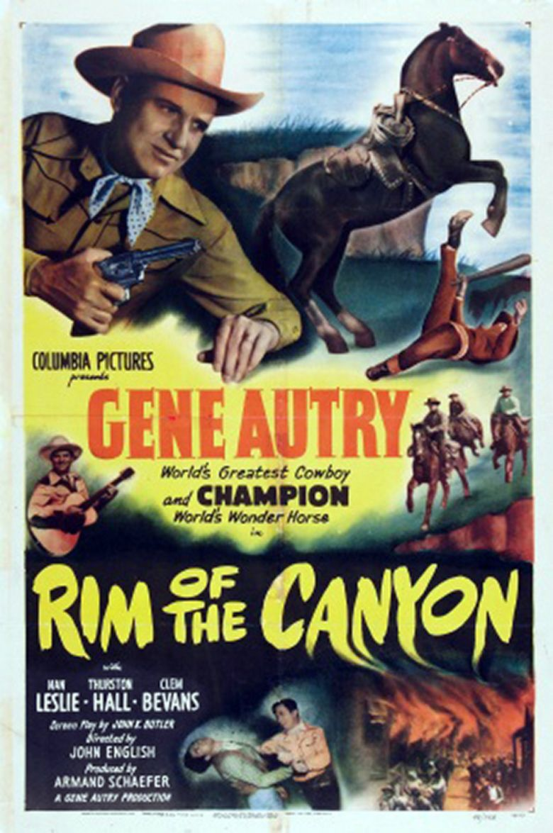 Rim of the Canyon movie poster