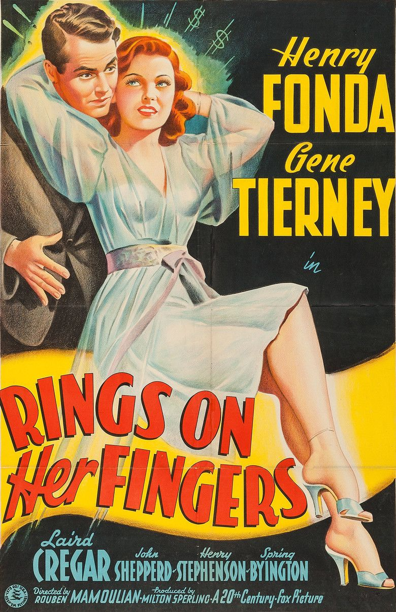 Rings on Her Fingers movie poster
