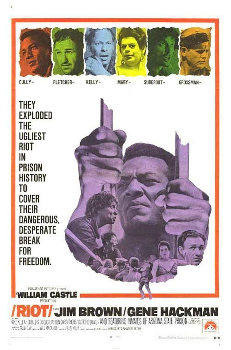 Riot (1969 film) movie poster