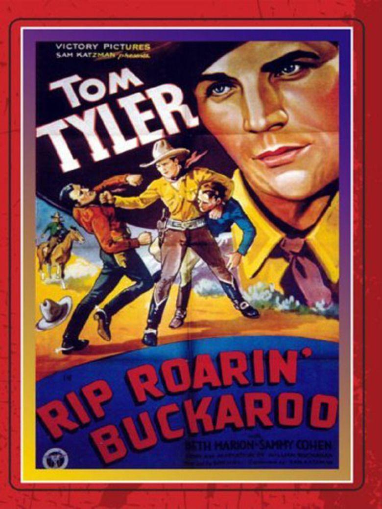 Rip Roarin Buckaroo movie poster
