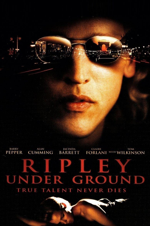 Ripley Under Ground (film) movie poster