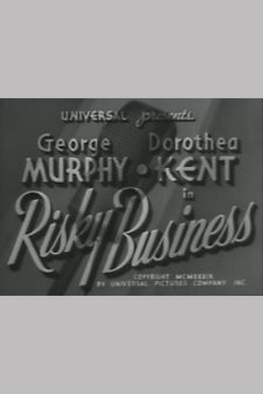 Risky Business (1939 film) movie poster