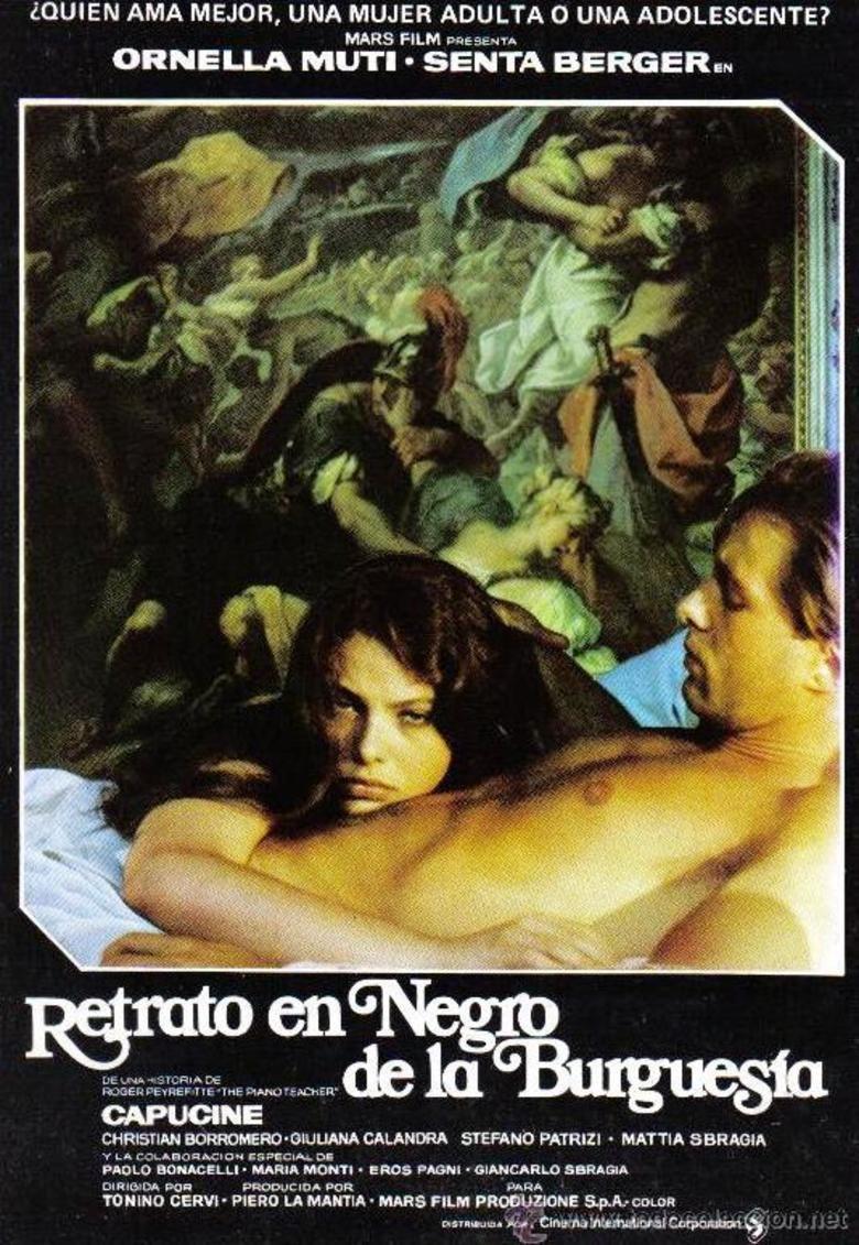 Ritratto di borghesia in nero movie poster