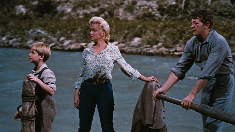 River of No Return movie scenes