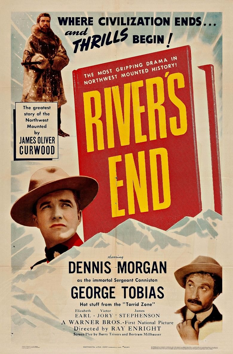 Rivers End (1940 film) movie poster