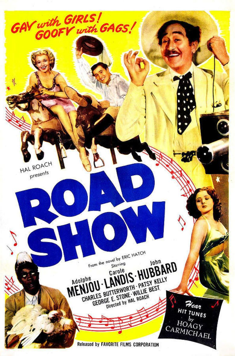 Road Show (film) movie poster