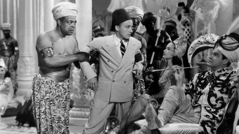 Road to Morocco movie scenes