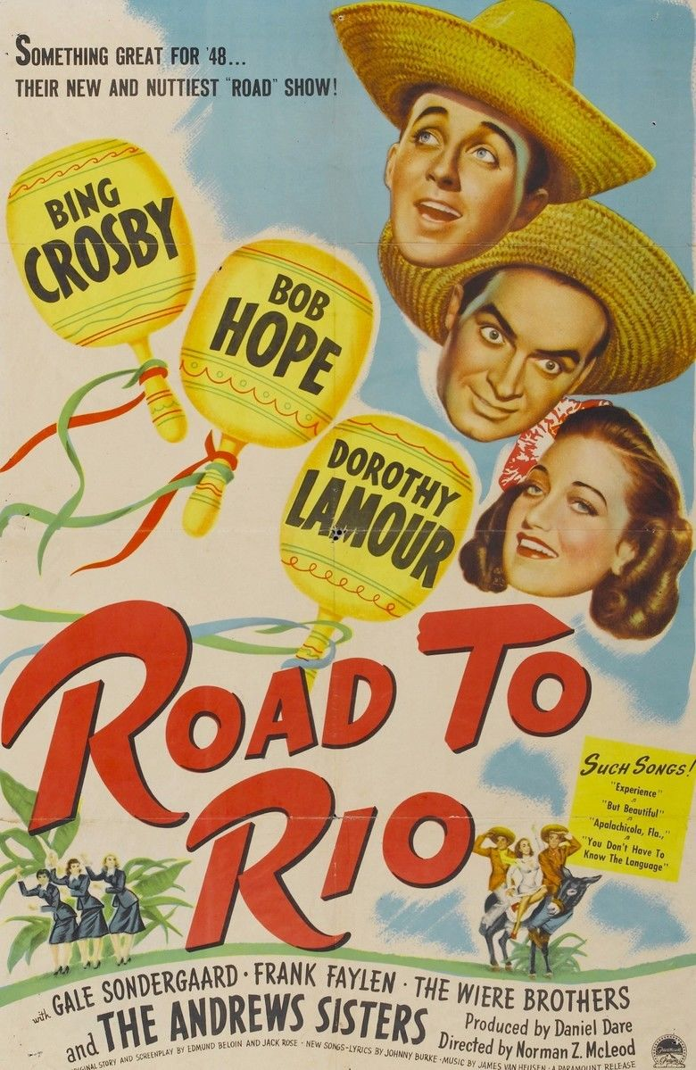 Road to Rio movie poster