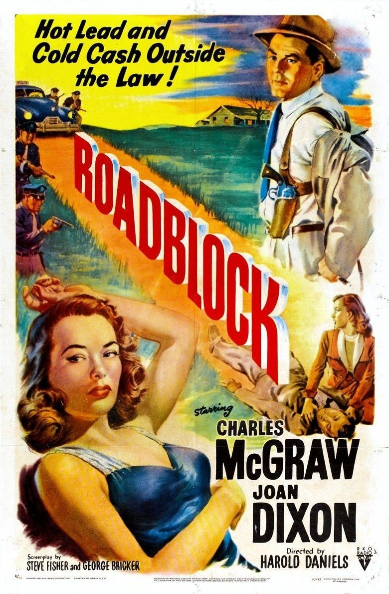 Roadblock (film) movie poster