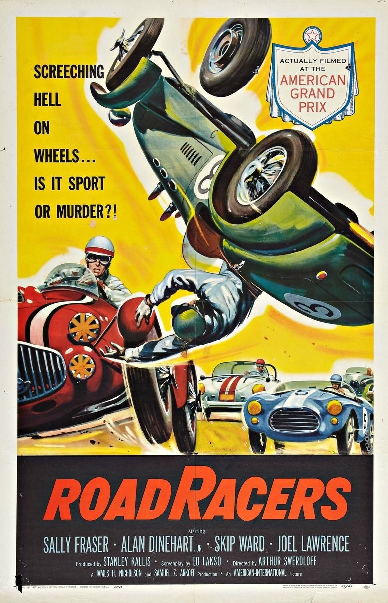 Roadracers (1959 film) movie poster