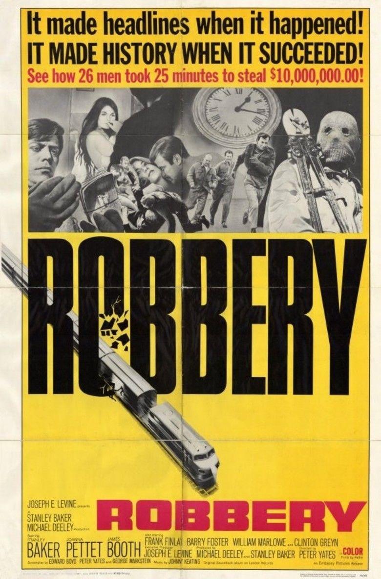 Robbery (1967 film) movie poster