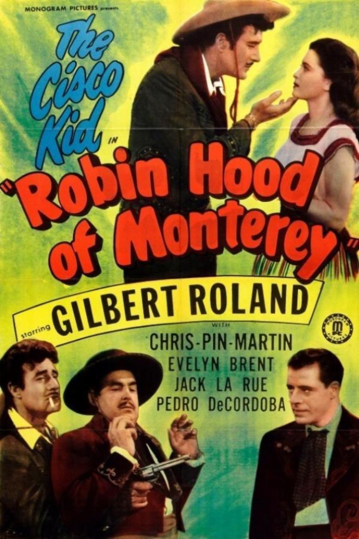 Robin Hood of Monterey movie poster
