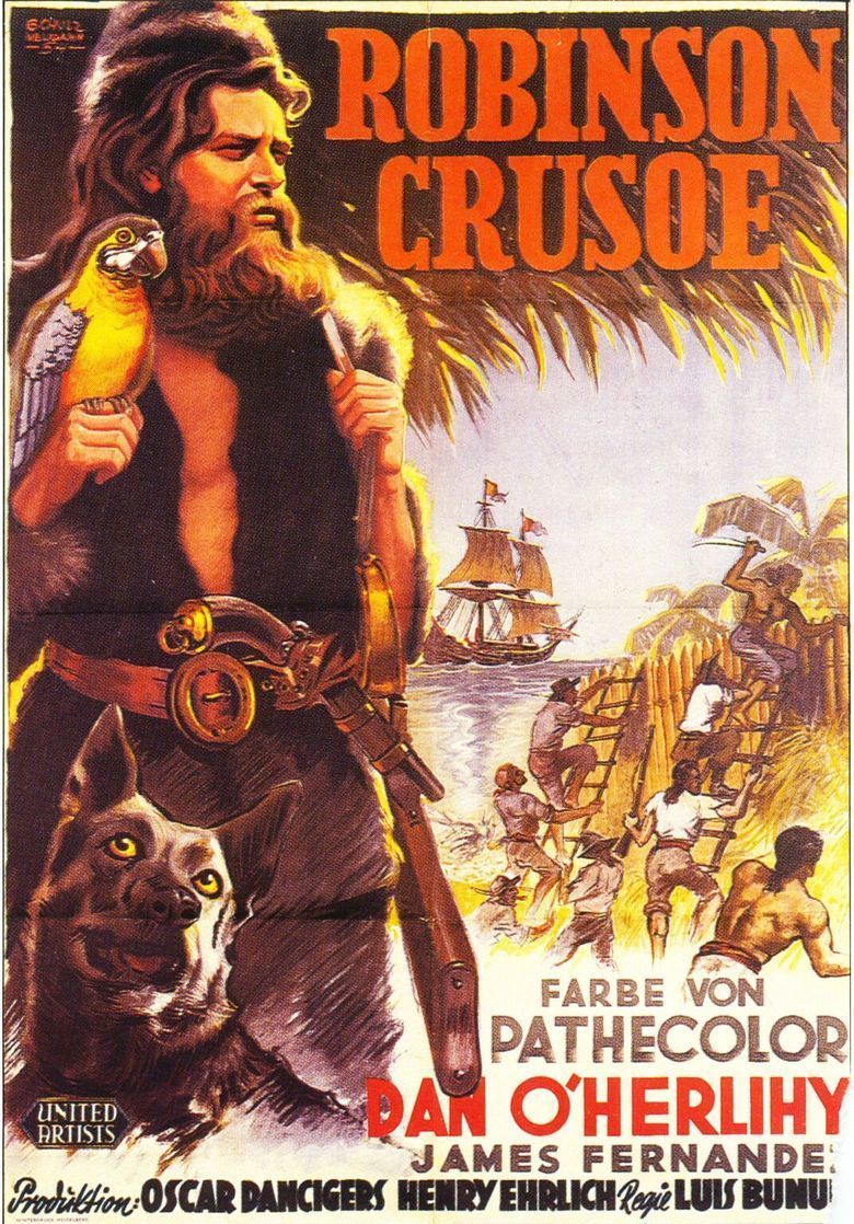 Robinson Crusoe (1954 film) movie poster