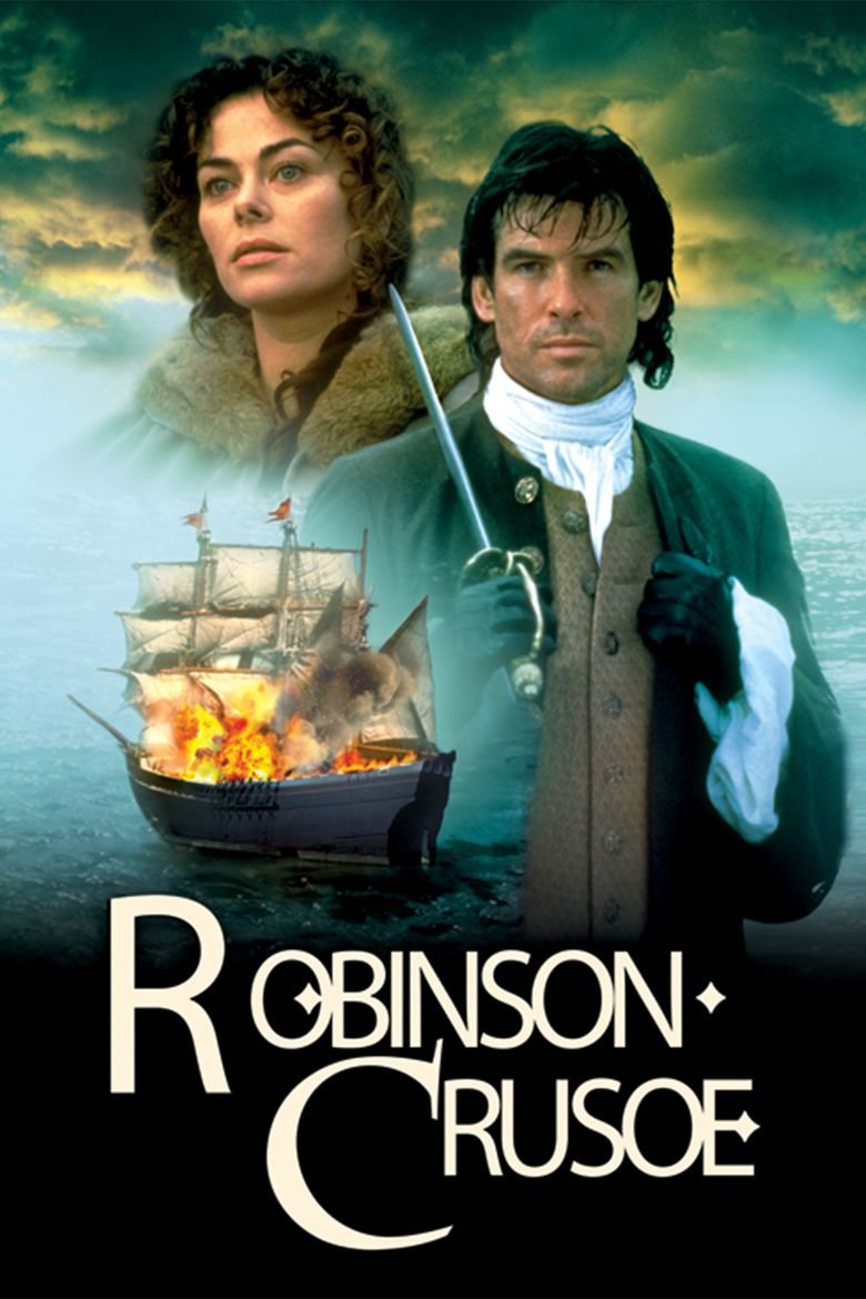 Robinson Crusoe (1997 film) movie poster