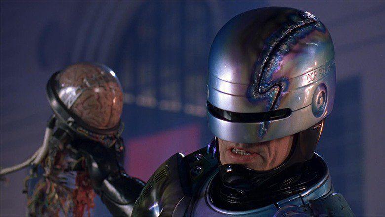 RoboCop 2 movie scenes