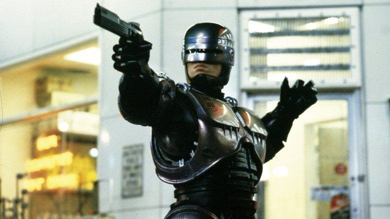 RoboCop movie scenes