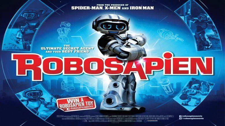 Robosapien: Rebooted movie scenes