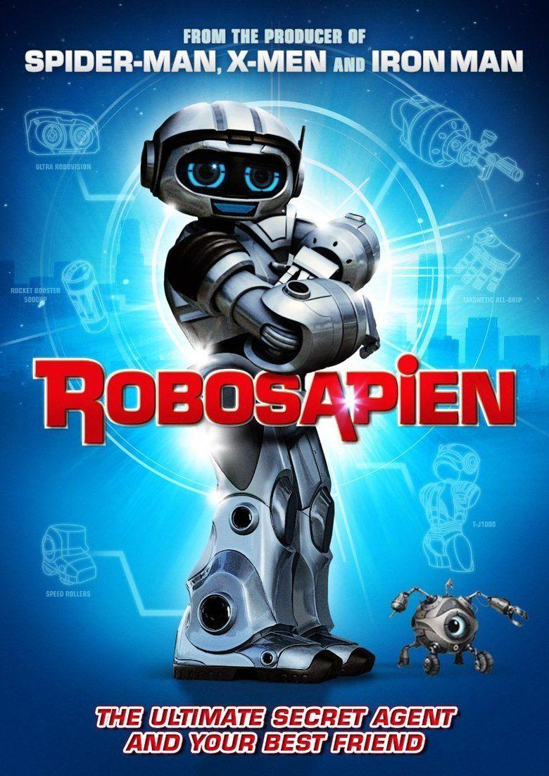 Robosapien: Rebooted movie poster