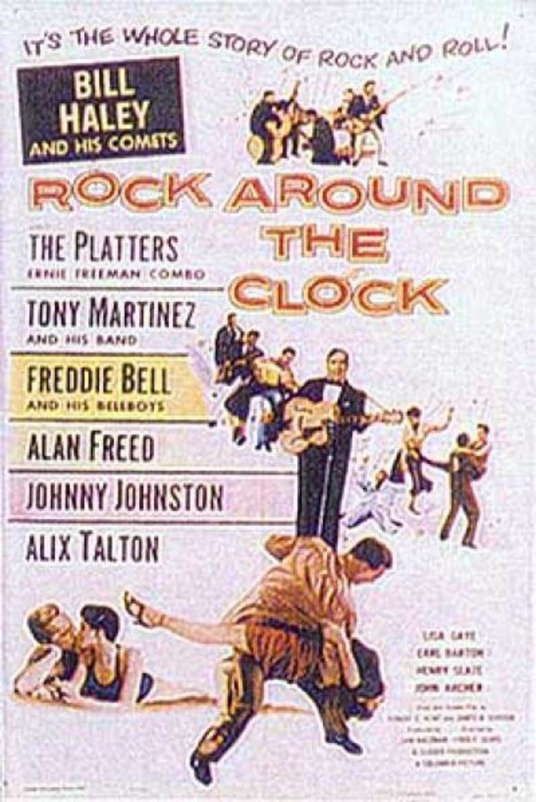 Rock Around the Clock (film) movie poster