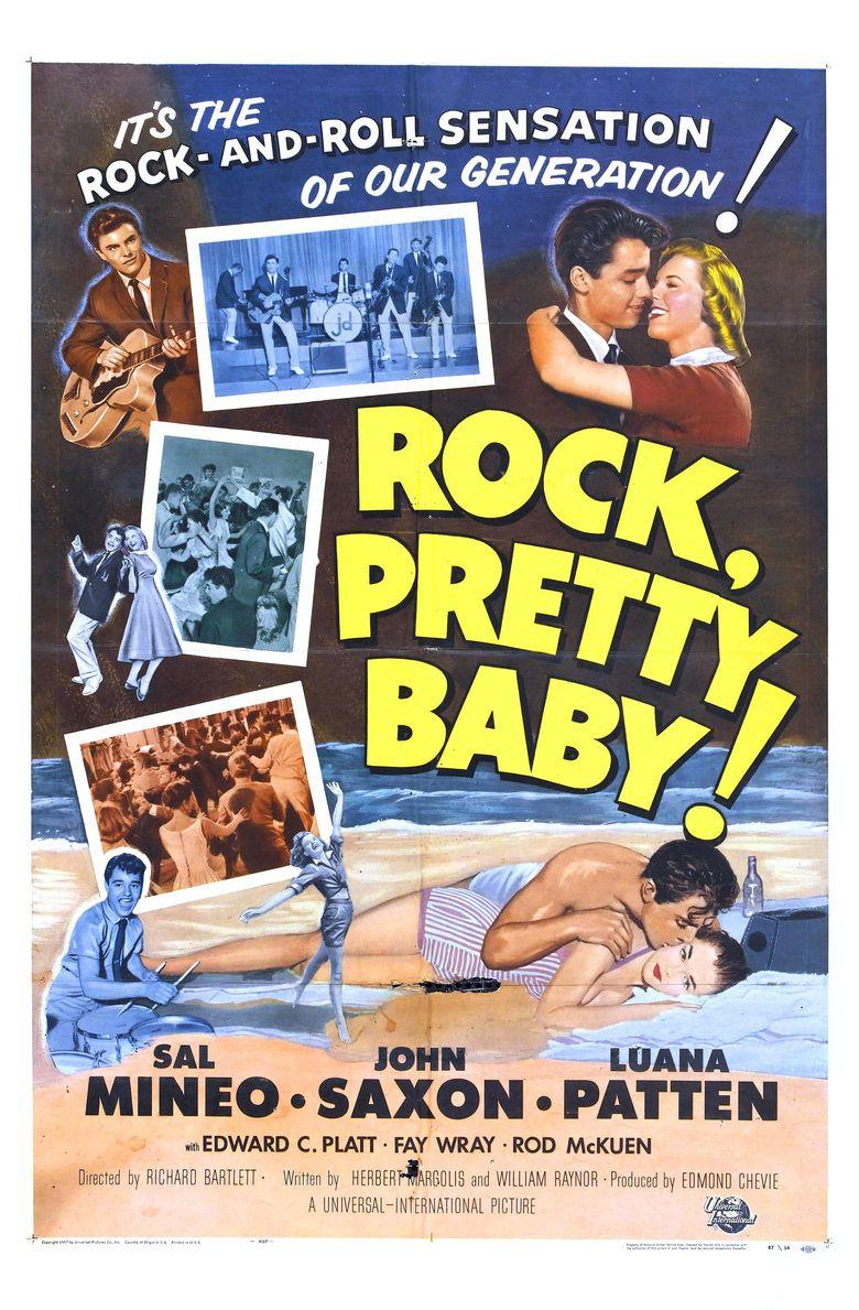 Rock, Pretty Baby movie poster