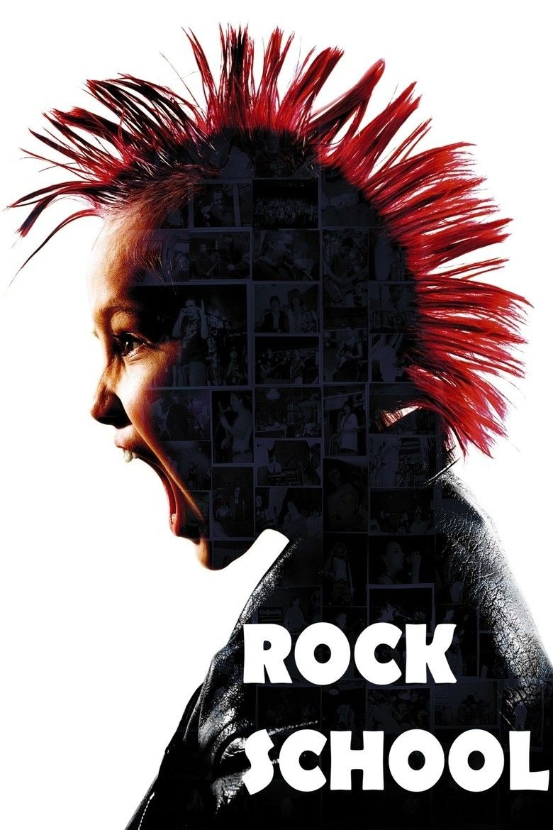 Rock School (film) movie poster