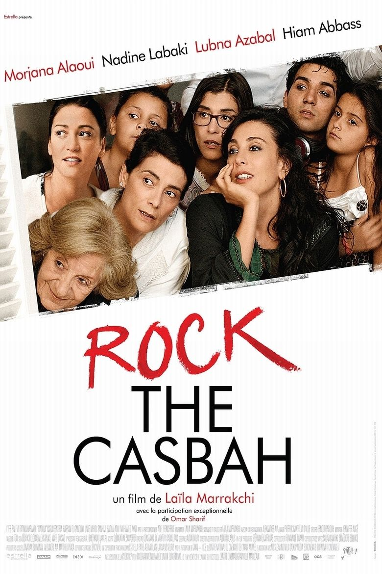 Rock the Casbah (2013 film) movie poster