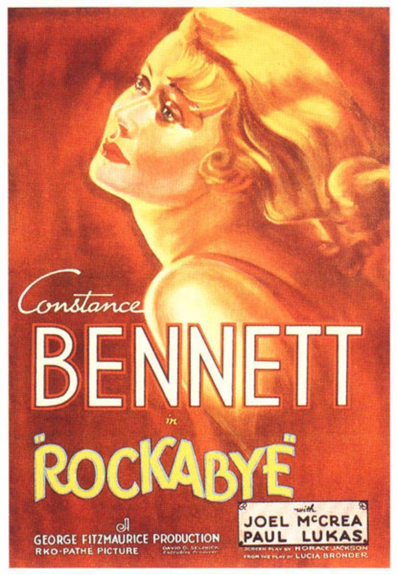 Rockabye (1932 film) movie poster
