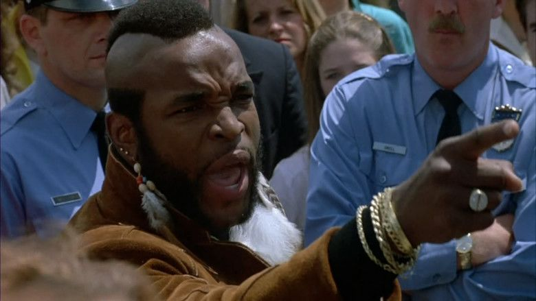 Rocky III movie scenes