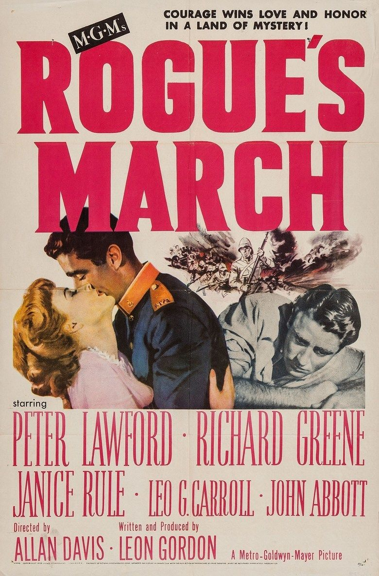 Rogues March (film) movie poster