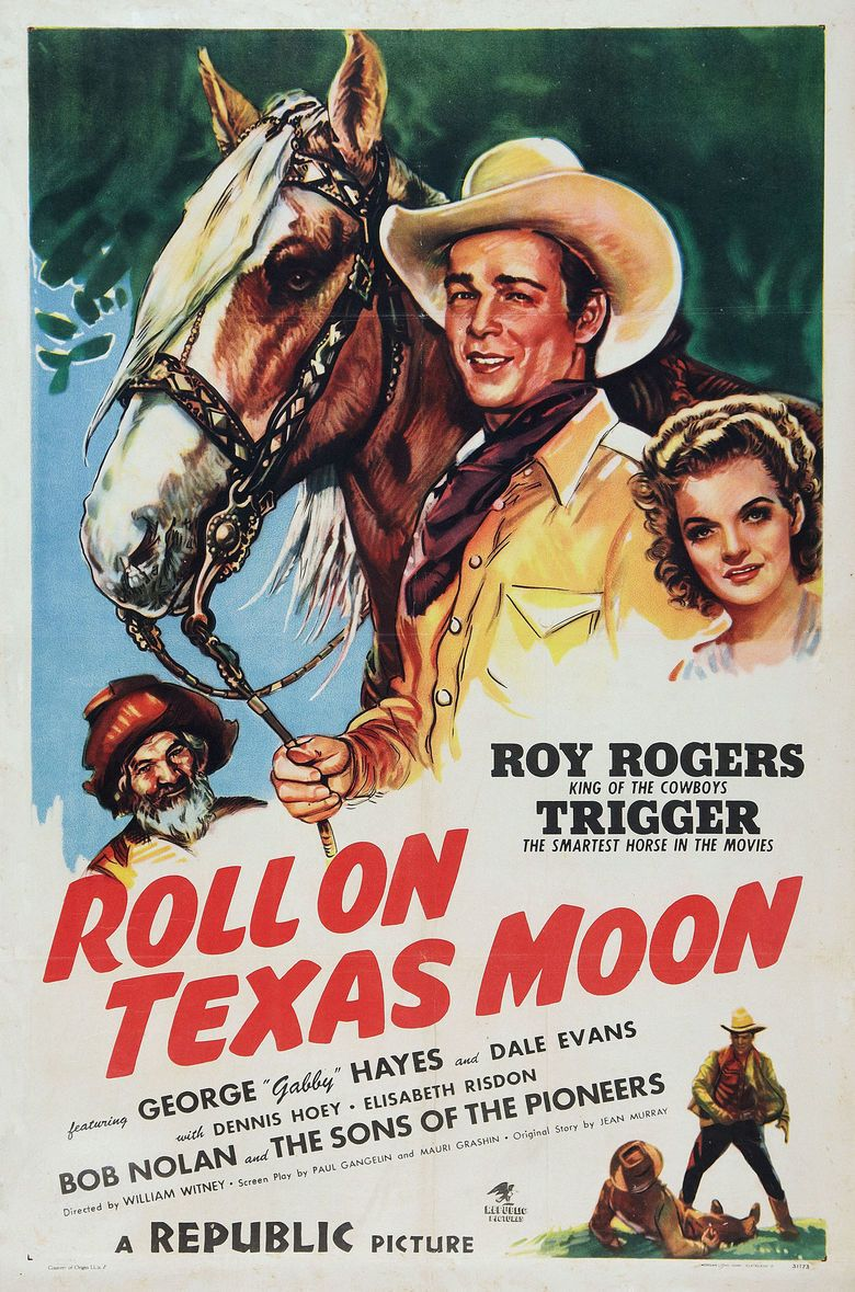 Roll on Texas Moon movie poster