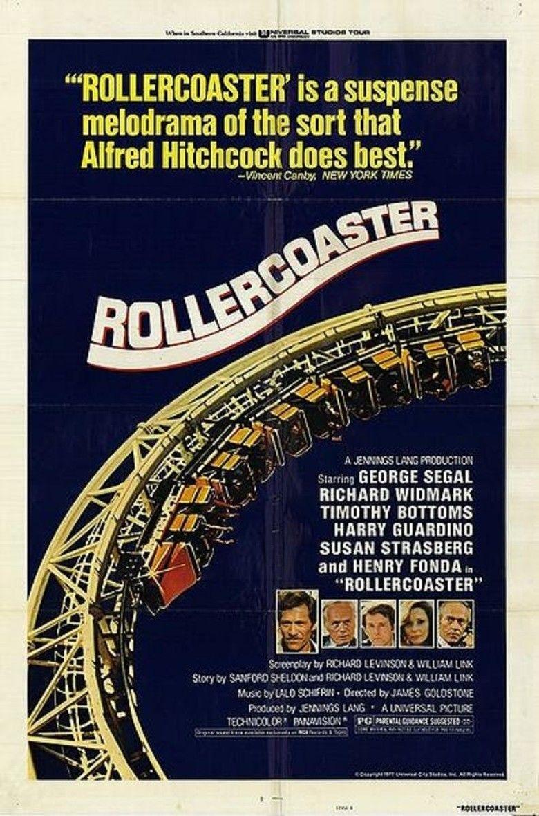Rollercoaster (1977 film) movie poster