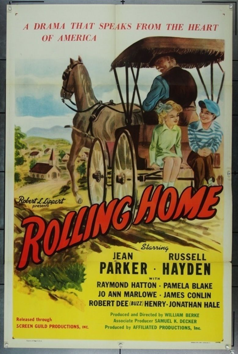 Rolling Home (film) movie poster