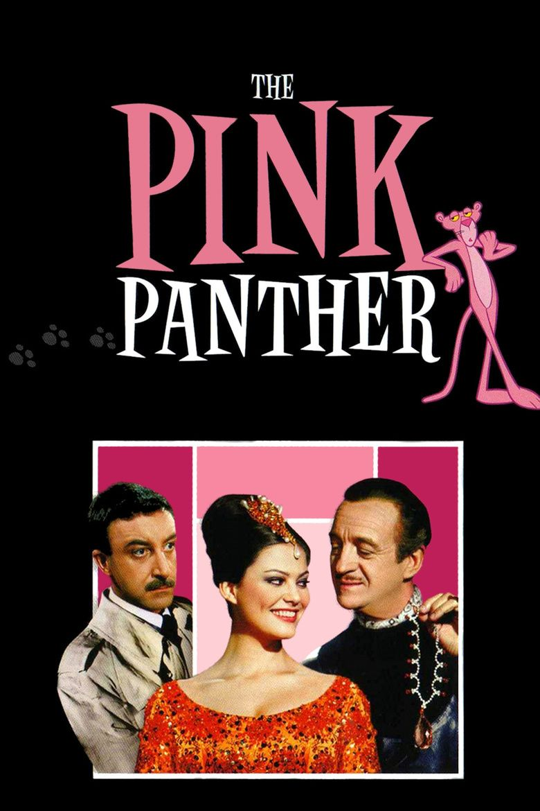 Romance of the Pink Panther movie poster