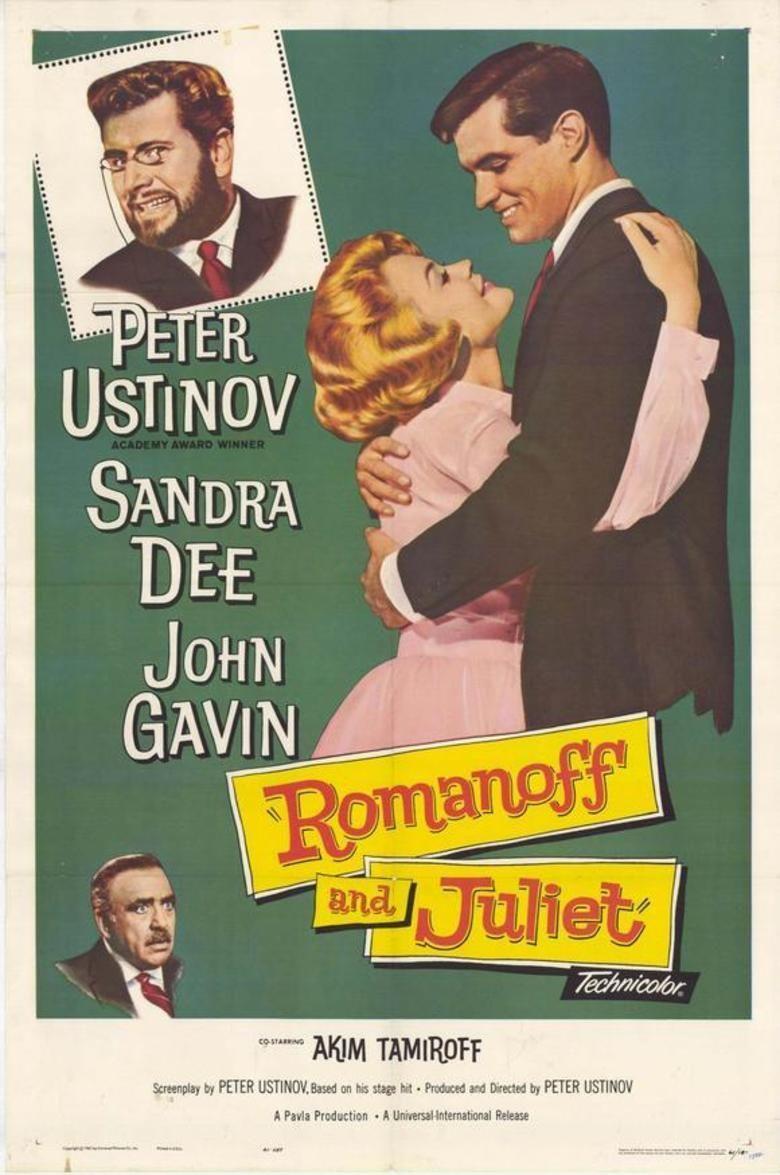 Romanoff and Juliet (film) movie poster