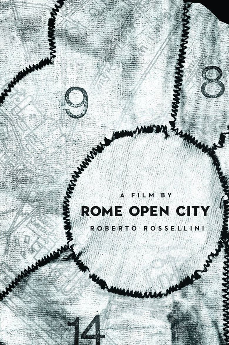 Rome, Open City movie poster
