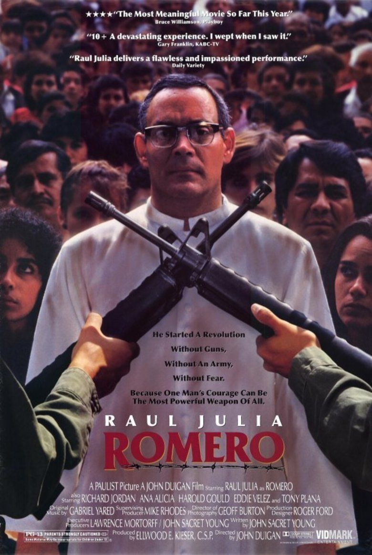 Romero (film) movie poster