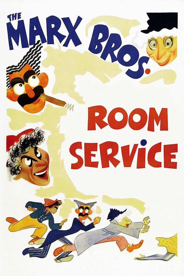Room Service (1938 film) movie poster