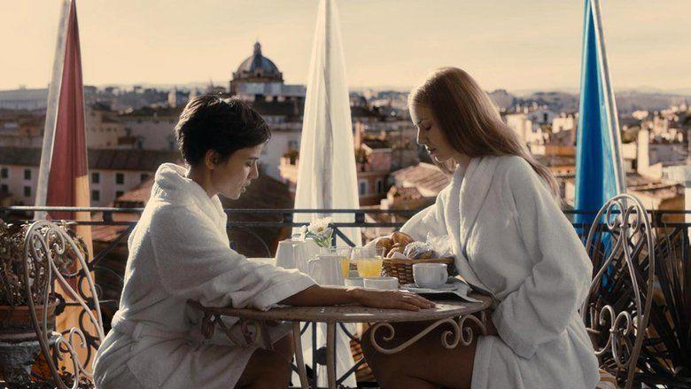 Room in Rome movie scenes