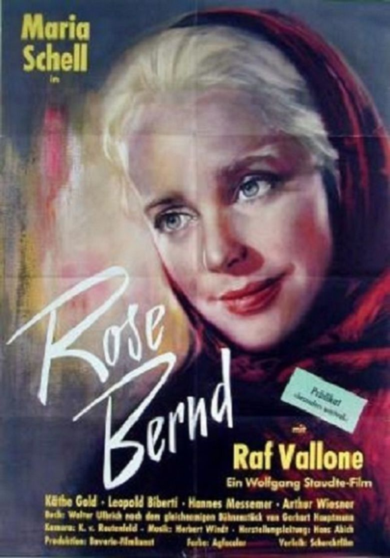 Rose Bernd (film) movie poster