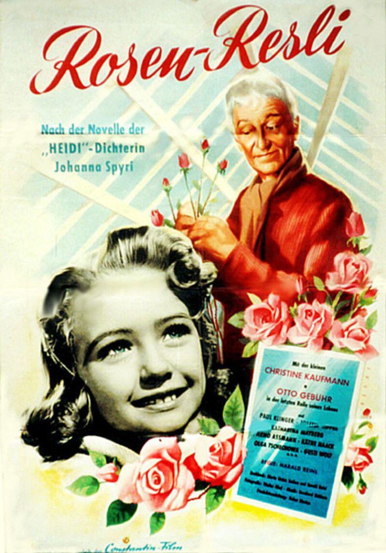 Rose Girl Resli movie poster