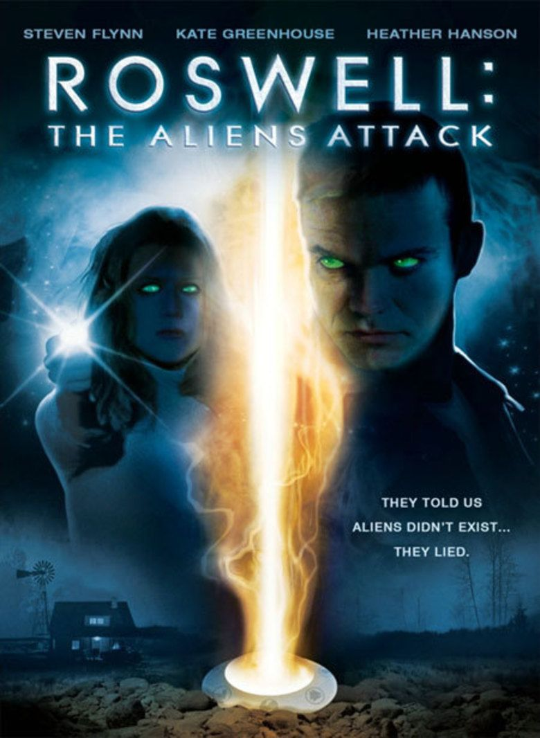 Roswell: The Aliens Attack movie poster