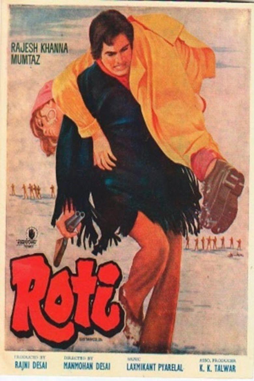 Roti (1974 film) movie poster