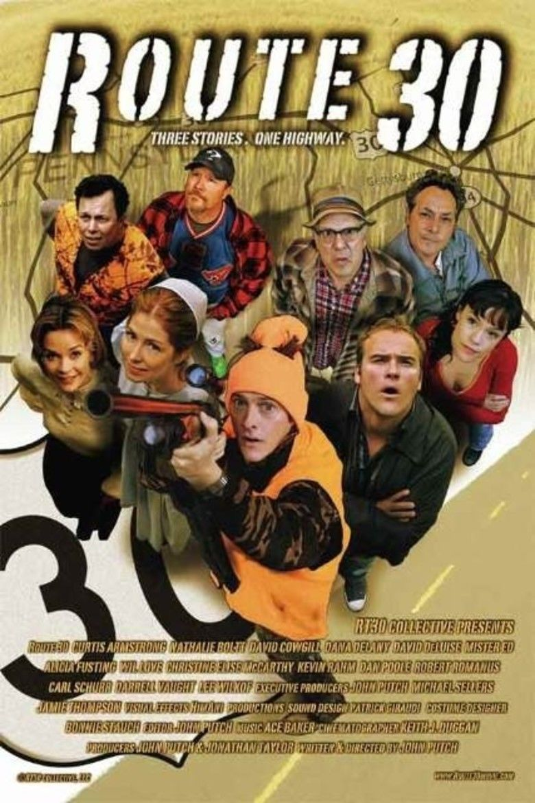 Route 30 (film) movie poster