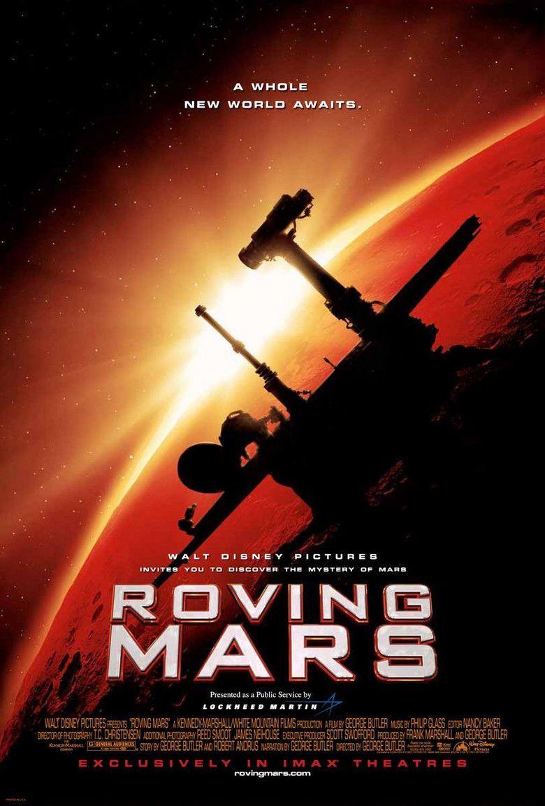Roving Mars movie poster