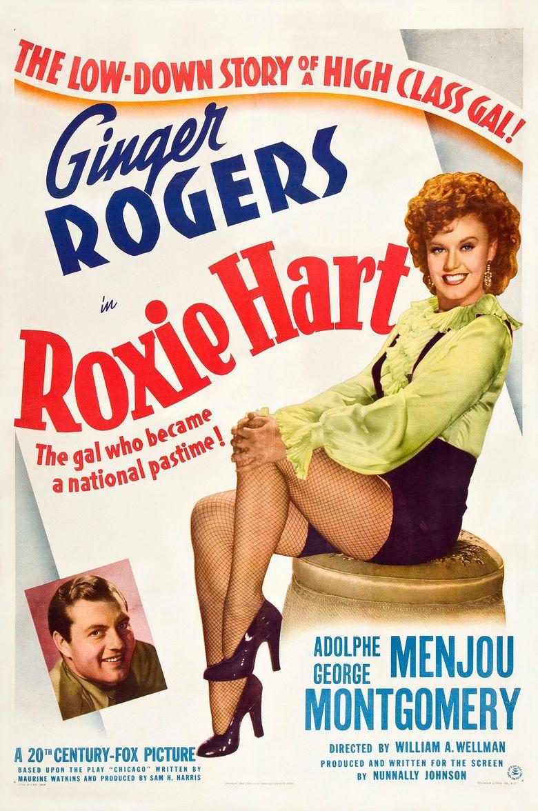 Roxie Hart (film) movie poster